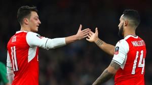 Fünf Tore für Arsenal nach der Bayern-Schmach