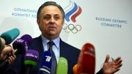 Im Visier der ARD-Doku: Russlands Sportminister Mutko
