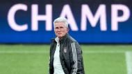 Wäre er doch nur alterslos – dann wären die Bayern ihre Sorgen los: Jupp Heynckes.