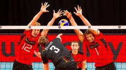 Debakel für deutsches Volleyball-Team