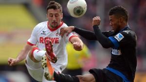 Köln stolpert gegen Paderborn