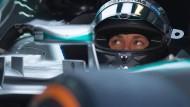 Im ersten Training ist niemand schneller als Mercedes-Pilot Nico Rosberg