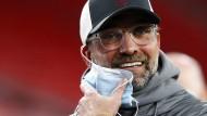 In der Champions League haben Jürgen Klopp und der FC Liverpool gut lachen.