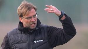 Neue Sorgen für Dortmund-Trainer Klopp