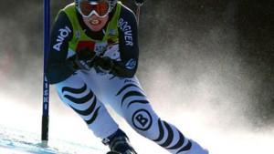 Angst besiegt: Hilde Gerg rast auf Platz drei