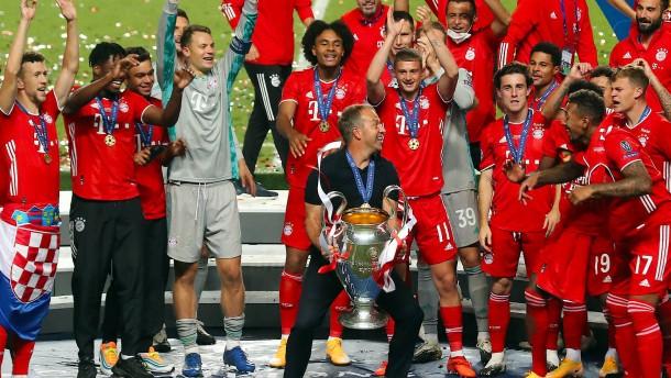 Glänzende Krönung für den FC Bayern