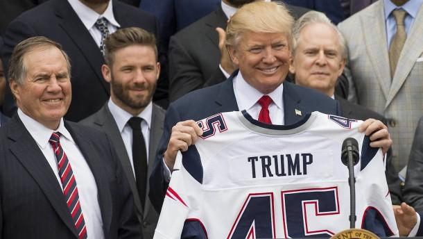 Verzicht auf hohe Auszeichnung wegen Donald Trump