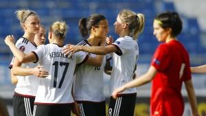 DFB-Frauen behalten makellose Bilanz