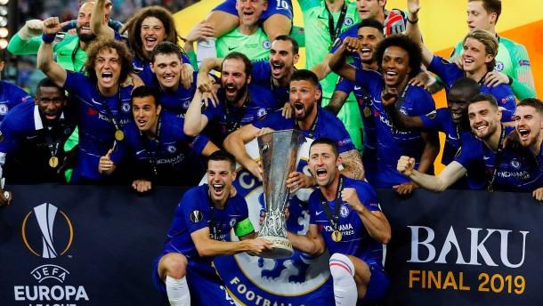 Chelsea holt mit Gala den Europa-League-Titel