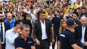Ronaldo fordert Bodyguards