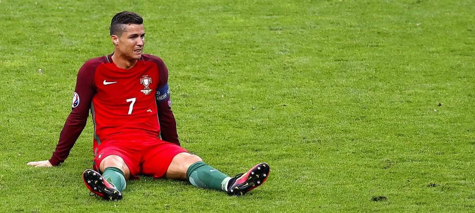 Em 2016 Analyse Cristiano Ronaldos Aus Schadet Portugal Nicht