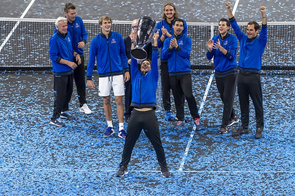 Bei der letzten Ausgabe des Laver Cups im Jahr 2019 konnte die europäische Auswahl jubeln.