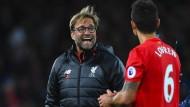 Ein Tor fehlt Klopp und Liverpool zum Spitzenrang