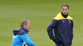 Nationaltrainer Erik Hamren setzt auf den exzentrischen Stürmer
