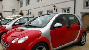 Daimler-Chrysler stellt Smart-Viersitzer ein