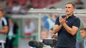 Stefan Kuntz ist zurück auf der Trainerbank