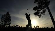 So malerisch kann Golf sein: Jordan Spieth führt vor der Schlussrunde beim Masters