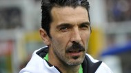 Wenn der Akku im Rasierer leer ist, sieht man auch mal so aus wie Gianluigi Buffon.