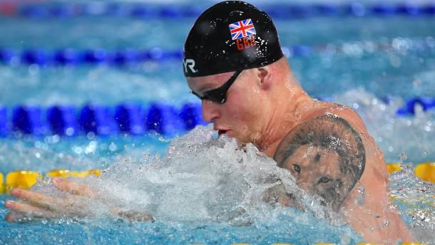 Olympiasieger Peaty gegen Weltmeister Peaty