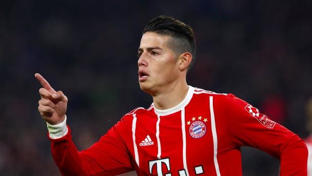 Warum James jetzt beim FC Bayern aufblüht