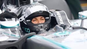 Rosberg macht weiter Tempo