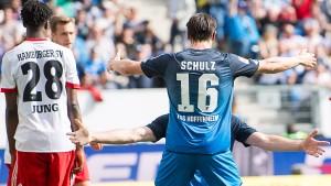 Hoffenheim zählt den HSV an