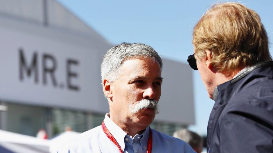 Chase Carey sagt jetzt, in welche Richtung die Formel 1 fährt.