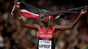 Kenias Leichtathletik-Star Kiprop für vier Jahre gesperrt