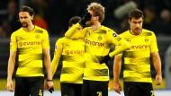 Entsetzen in Schwarz und Gelb: Borussia Dortmund verliert schon wieder.