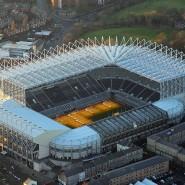 Newcastle United spielt im St. James' Park, zumindest wieder wenn die Corona-Pause vorbei ist.