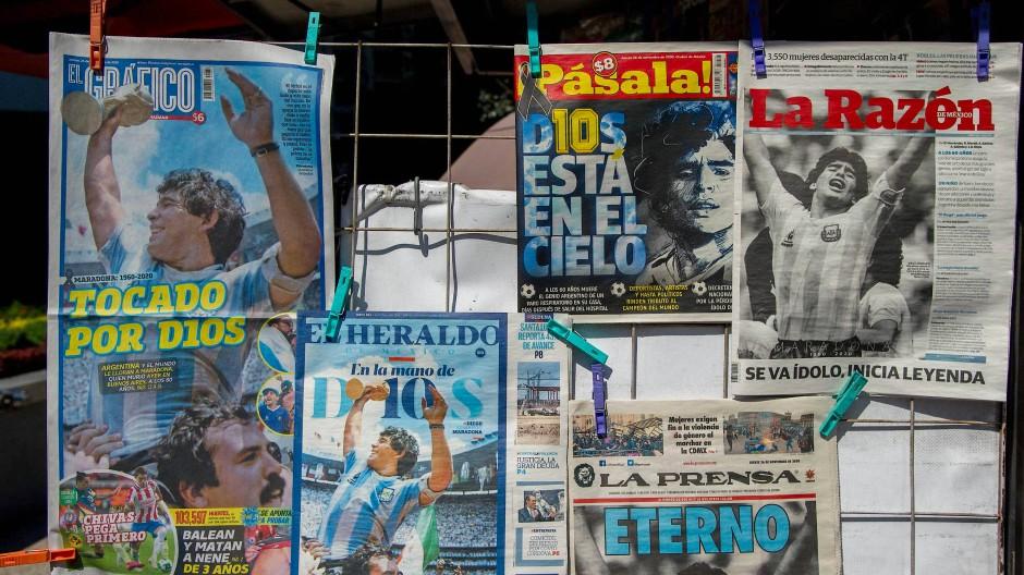 Ein Held aus analogen Tagen: Diego Maradona