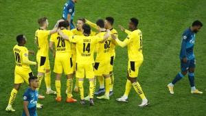 BVB-Notelf schafft den Gruppensieg