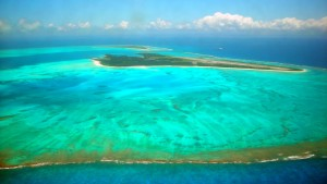 Boeing 777 muss auf einsamer Pazifik-Insel landen