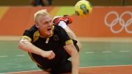 Ein letzter Kraftakt: Patrick Wiencek und die deutschen Handballer wollen Bronze.