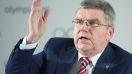 Keine leichte Zeit in der Sportpolitik: IOC-Präsident Thomas Bach