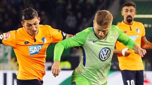 Wolfsburg kann mit Schmidt nur remis