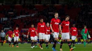 Schwere Zeiten für Manchester United