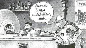 Wer kriegt die Pizza Endstatione?