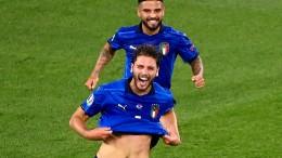 Italien holt gleich den nächsten Sieg
