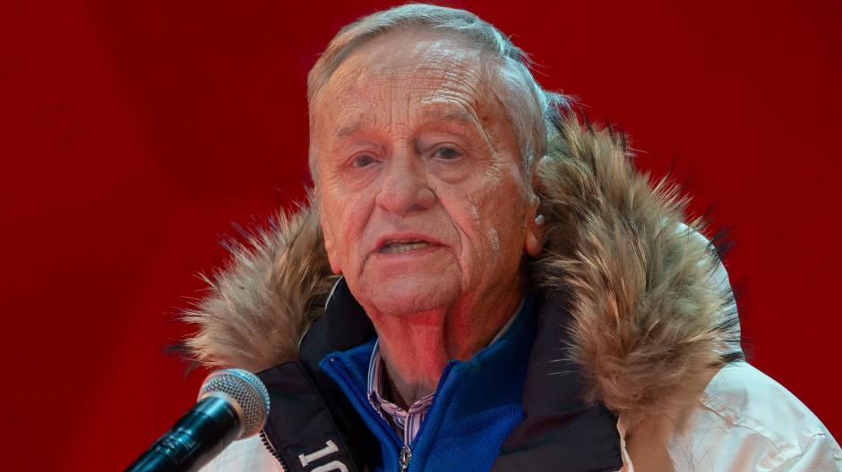 Umstrittene Aussagen: Gian Franco Kasper, Präsident des Internationalen Skiverbands Fis