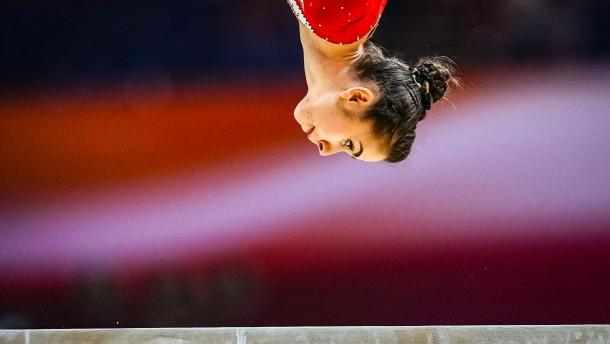 Deutsche Turnerinnen scheitern am Balken