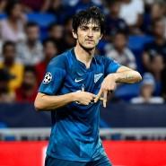 Hat sich unsterblich für Fußball-Statistiker gemacht: Sardar Azmoun schießt das erste Tor der Champions-League-Saison 2019/20