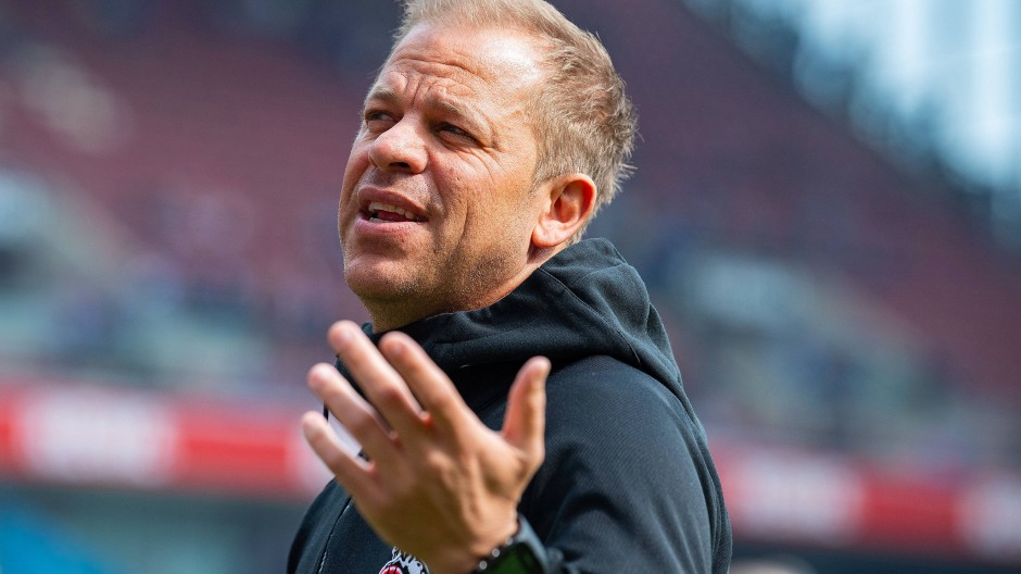 Da ist der Neue: Markus Anfang wird Trainer in Darmstadt.