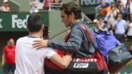 Selfie wider Federers Willen