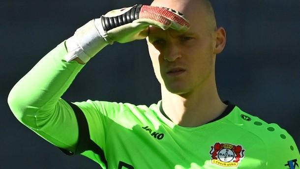 Spätes Tor erleichtert den Leverkusener Torwart