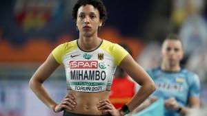 Malaika Mihambo und eine heikle Angelegenheit