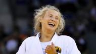 Fahne als i-Tüpfelchen für Martyna Trajdos