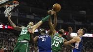 Daniel Theis gewinnt mit den Celtics in London