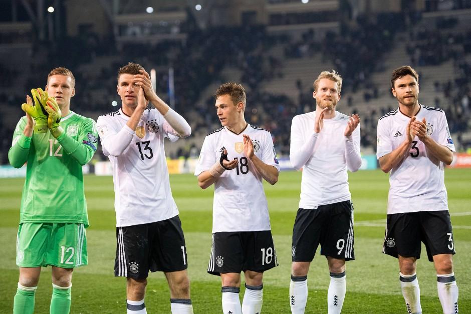 Bilderstrecke Zu Weltmeister Deutschland Lost Die Pflichtaufgabe In Aserbadschan Bild 6 Von 6 Faz