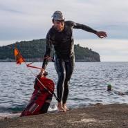 Auf Landgang: Triathlet Jonas Deichmann erreicht die kroatische Stadt Dubrovnik.